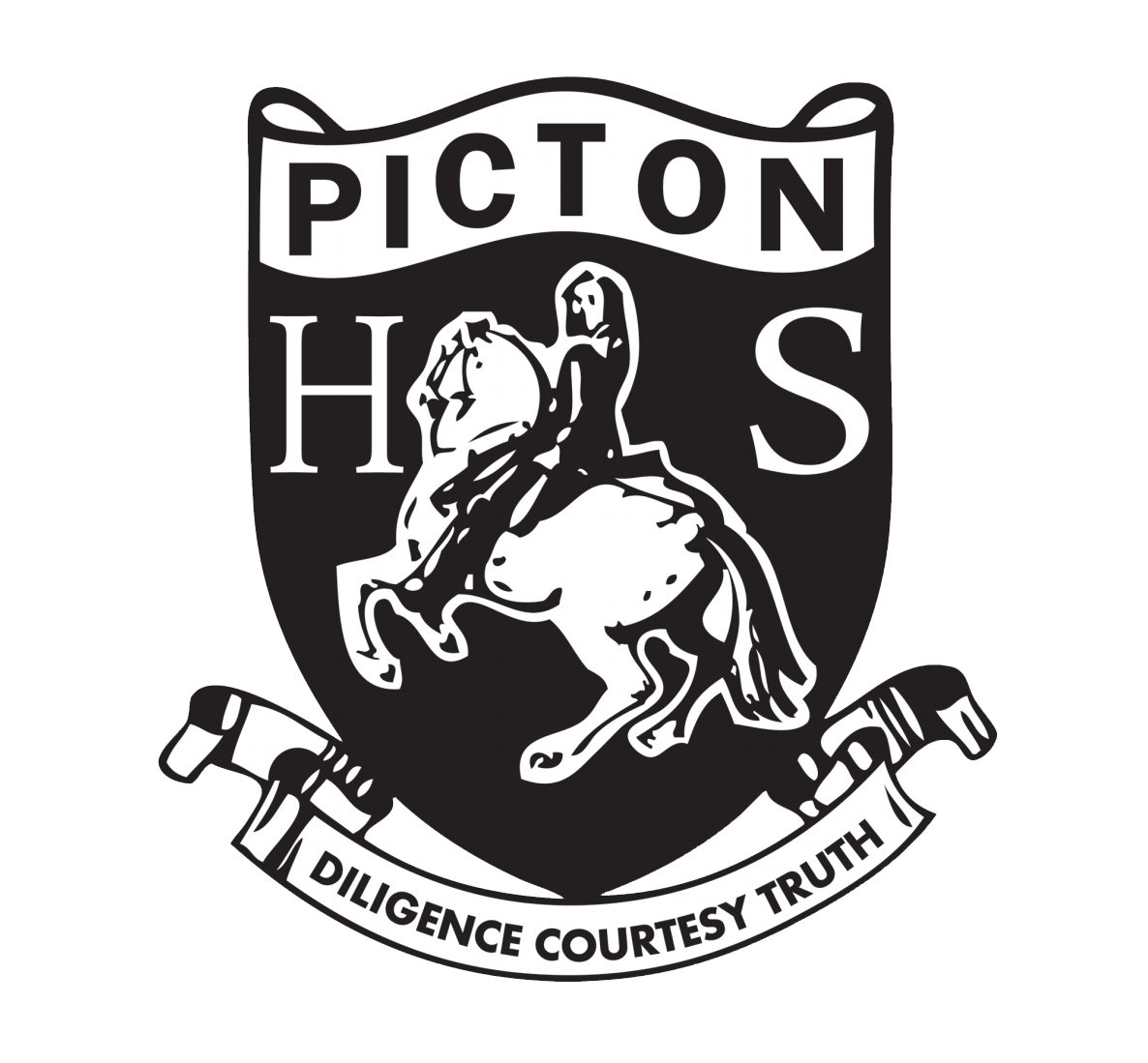 Picton High School logo